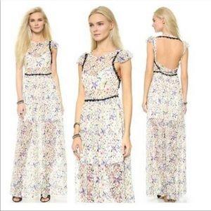 NWOT FREE PEOPLE Cherry Blossom Maxi Dress